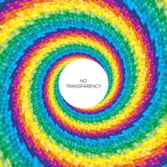 Colorful swirl background design