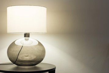 Interior, table lamp