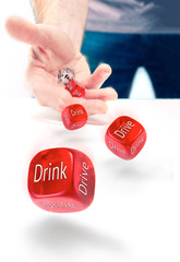 Drink drive risk, gamble losing licence.