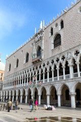 View to San Marco square in Venice