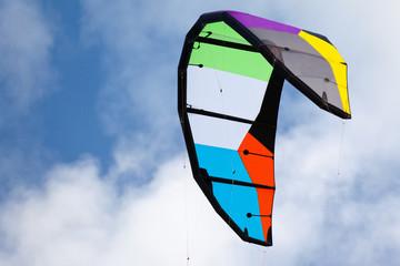 voile de kite-surf vierge de tout marquage