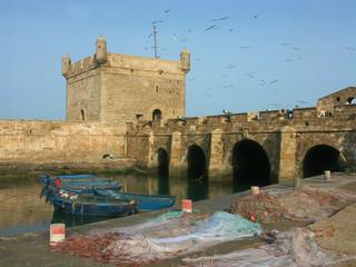 au port d'Essaouira