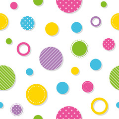 colorful circles pattern