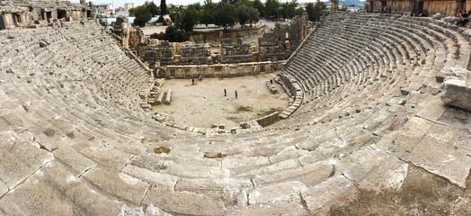 Греко-римский амфитеатр в античной Ликии, Турция