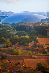 New-old. Panorama of Beijing