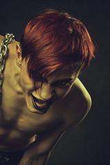 Redhead mad boy