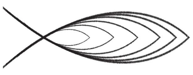 Christian Fish Scribble