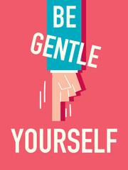 Word Be gentle