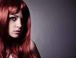 portrait of girl with red hair-haircolors 33