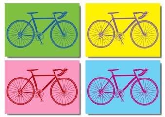 Vélo de course pop