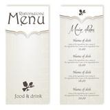 Menu Restaurant - 72369904
