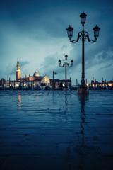 Venice on rainy day
