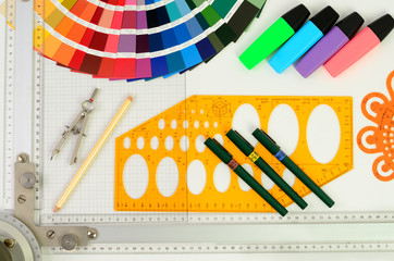Konstruktion Zeichnung
