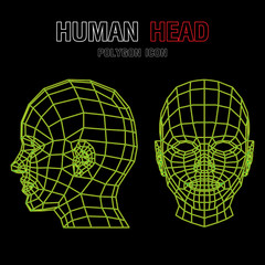 Human Polygon Head