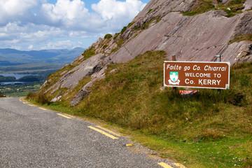 Healy Pass, Kerry, Irland