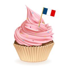 French Cupcake