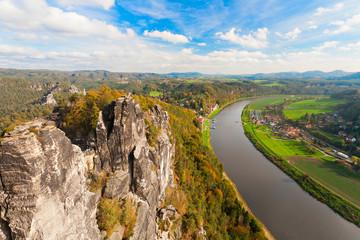 Bastei in der Sächsischen Schweiz