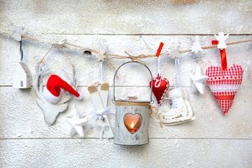 Weihnachtsdekoration - kleine Laterne