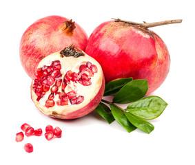 pomegranate isolated