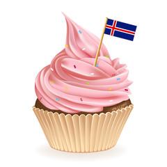 Iceland Cupcake