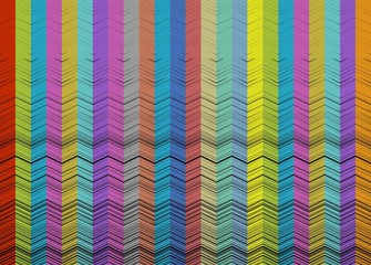 Vector colorful wooden background
