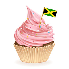 Jamaican Cupcake