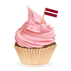 Latvian Cupcake