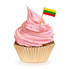 Lithuanian Cupcake