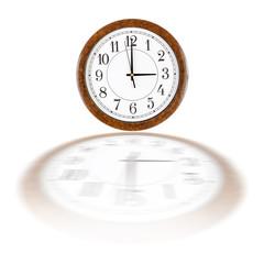 Clock face showing three oclock