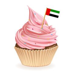 United Arab Emirates Cupcake