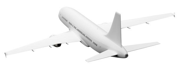 plane rear view