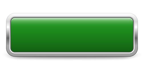 Long rectangular template - green metallic button