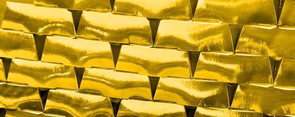 gold bricks panorama