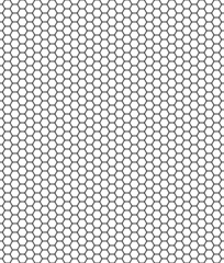Wabenzellen weiß schwarz