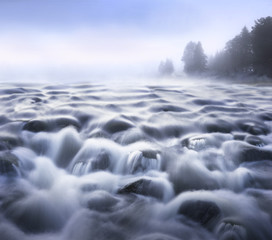 Streaming water