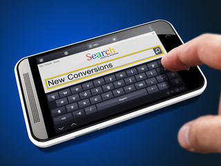 New Conversions in Search String on Smartphone.