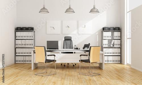 Leinwanddruck Bild Contemporary office