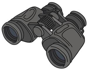 Hand drawing of a binoculars