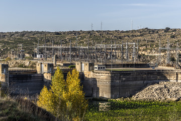 Embalse hidroelectrico