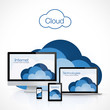 Cloud computing, vector illustration - 72380774