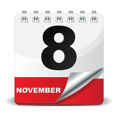 8 NOVEMBER ICON