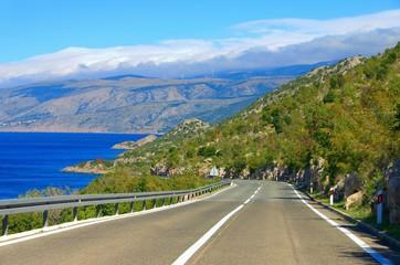 Kuestenstrasse Kroatien - coast road croatia 03