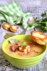 German pea soup.
