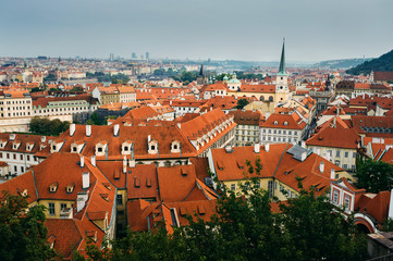 View of Old town Prague, Czech Republic
