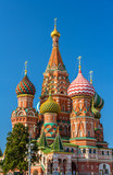 Fototapeta Saint Basil's Cathedral in Red Square - Moscow