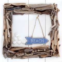 Beach Wood Frame