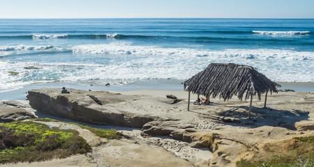 A Beach Hut in La Jolla