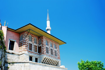 A imperial building from ottoman empire