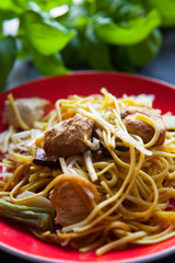 chinese food noodle chicken