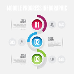 Module Progress Infographic